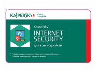 Kaspersky Internet Security 2018 (2 Device - 1 year) Card